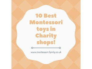10 best Montessori toys in charity shops