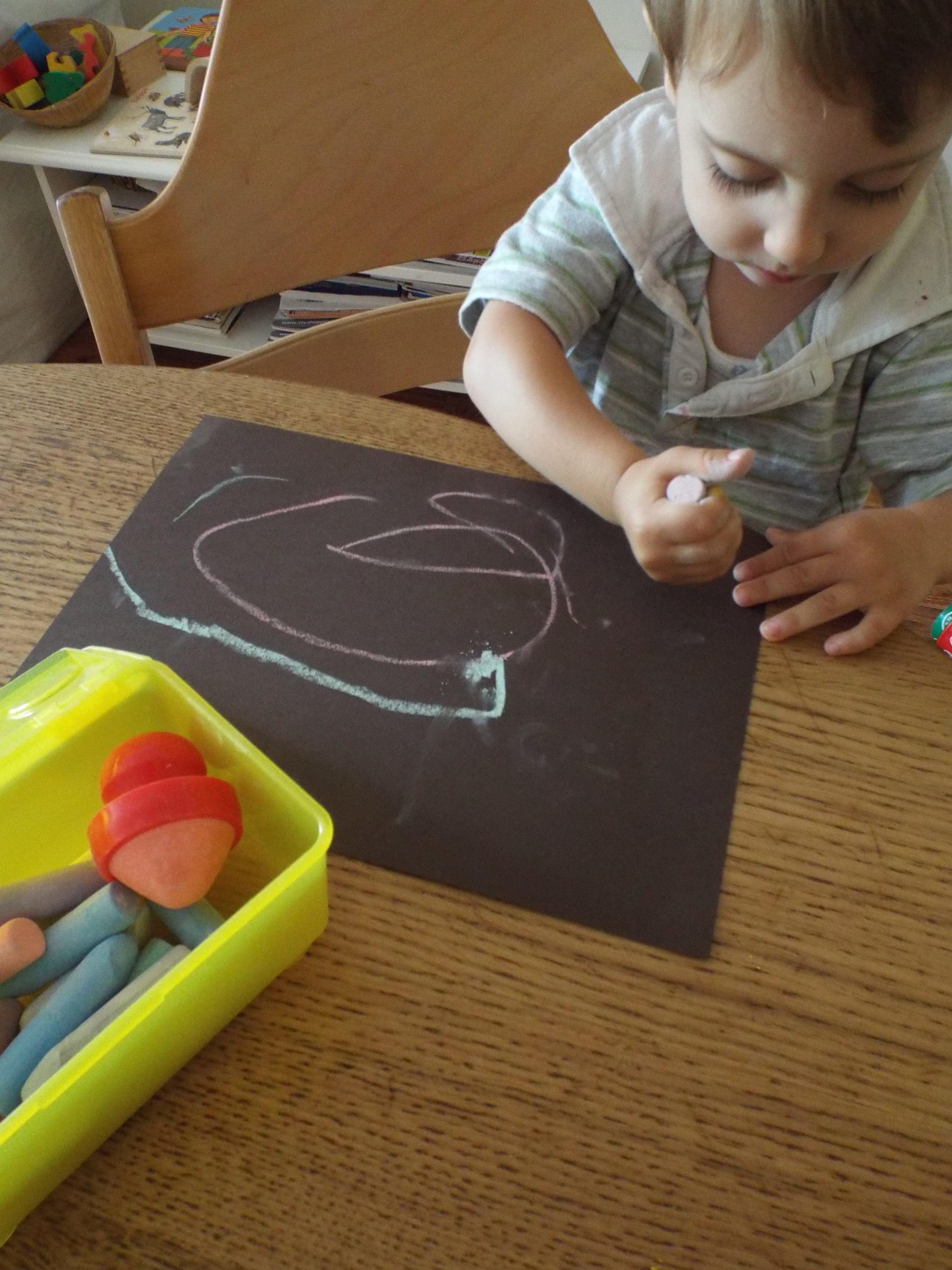 Montessori toddler craft