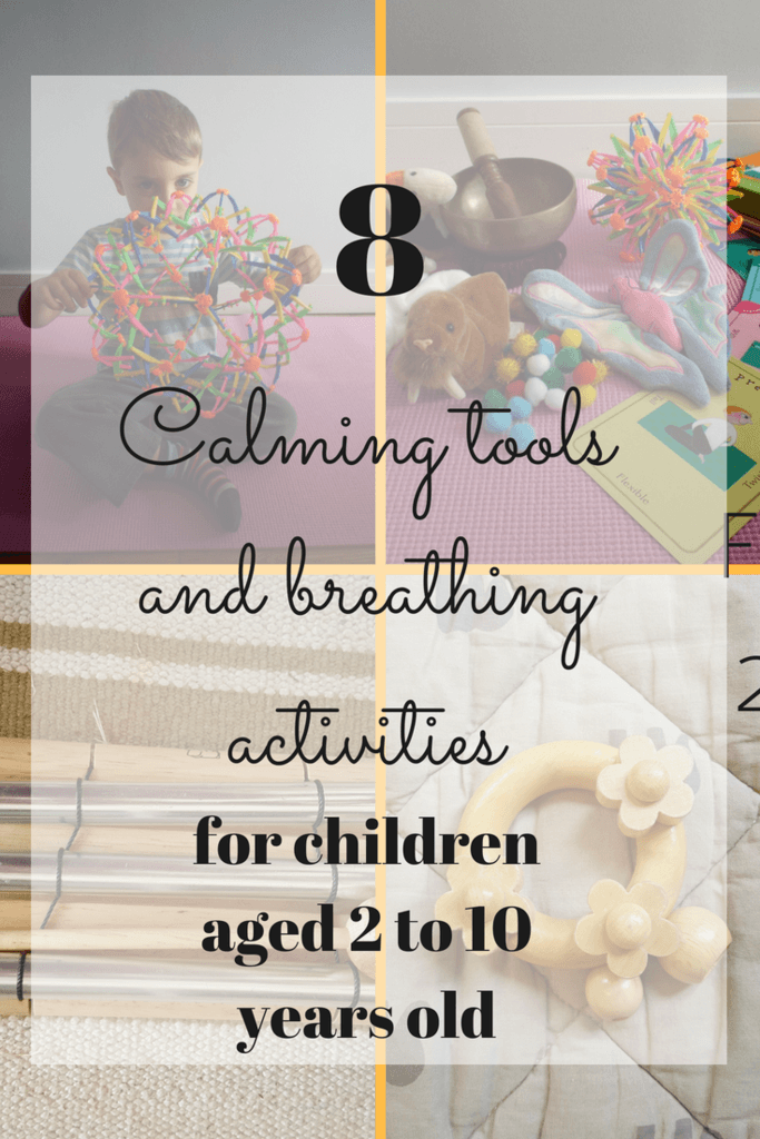 8 calming and breathing activities for children aged 2 to 10 years old