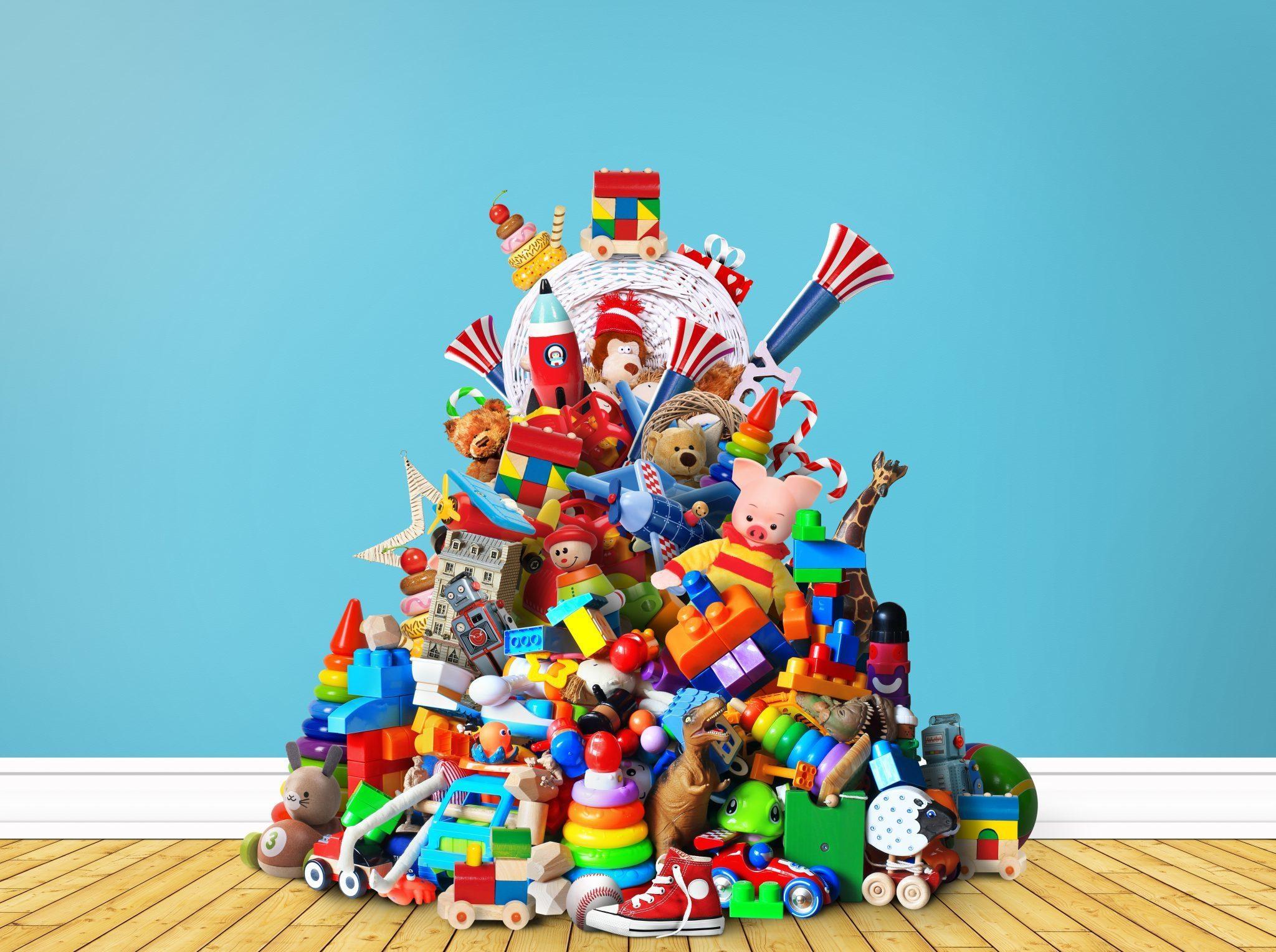 sorting Montessori toys