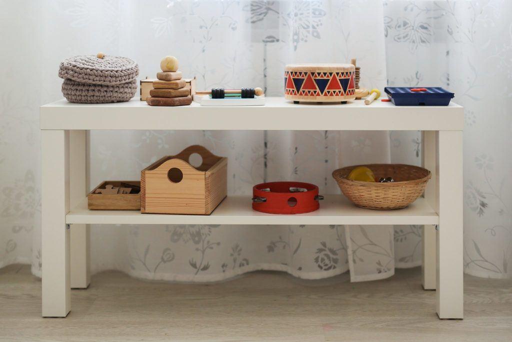 Montessori shelfie