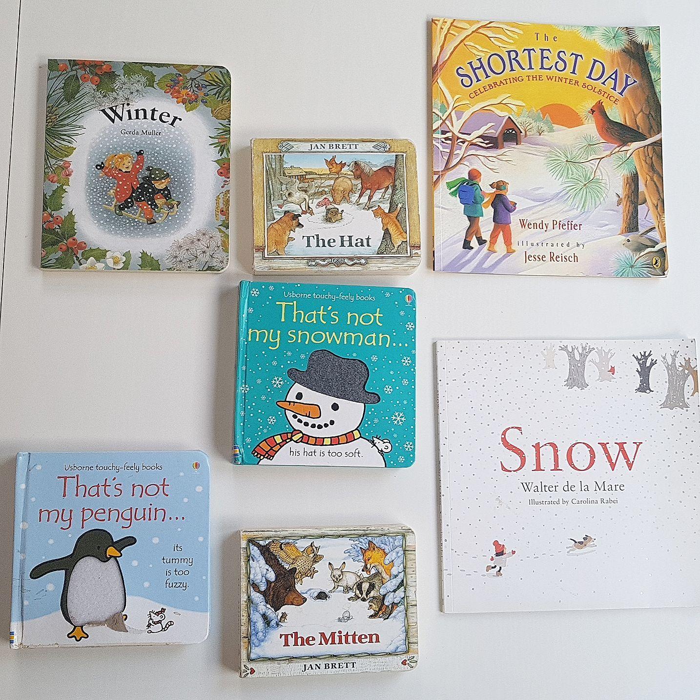 Montessori winter books