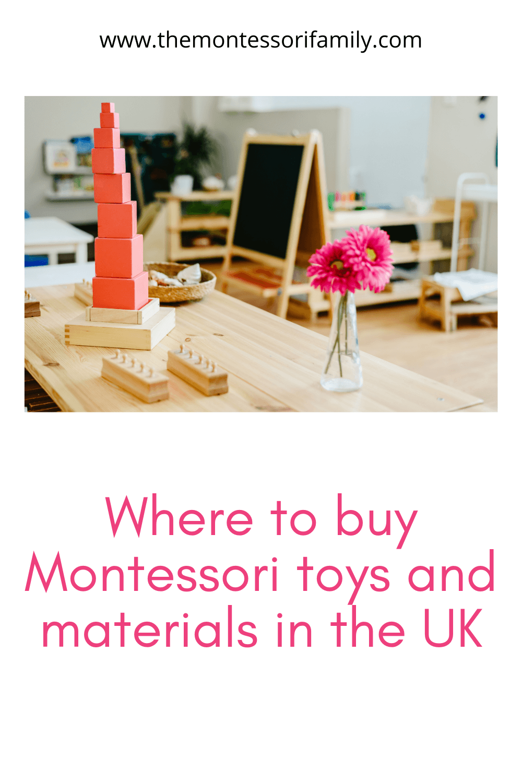 Montessori toys and materials UK