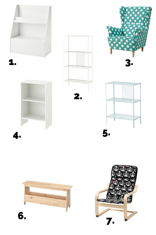Montessori Ikea furniture