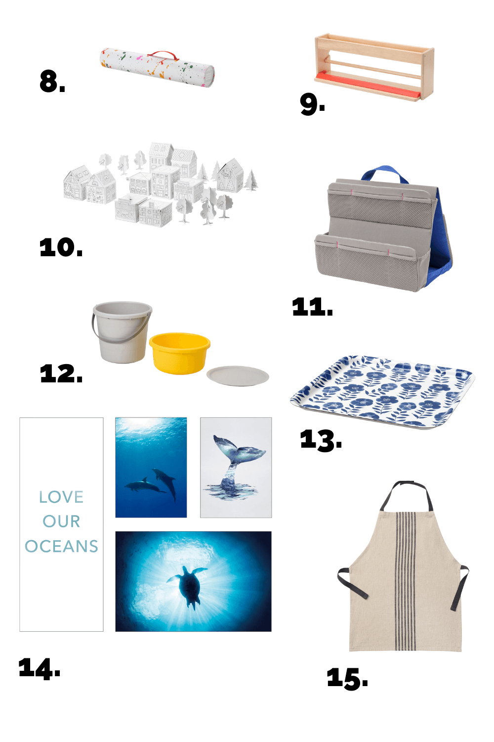 Montessori products from Ikea