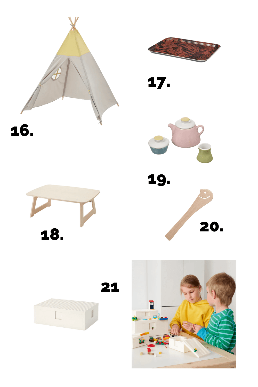 Montessori products at Ikea