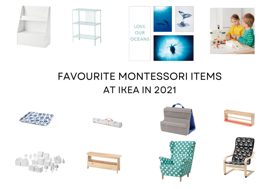 Montessori Ikea products in 2021